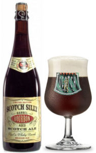 Scotch Silly barrel-aged, Scotch ale, whiskey
