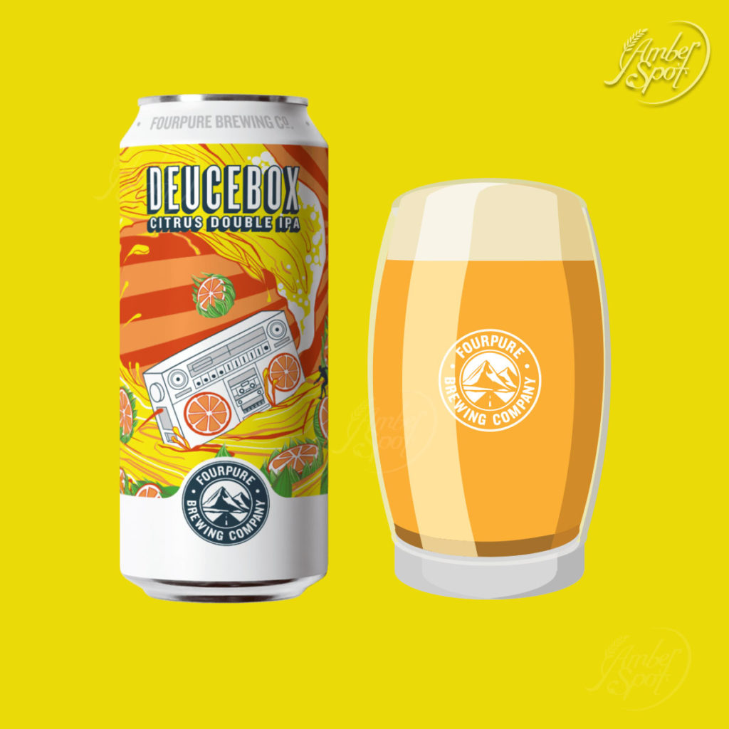 Deucebox, Citrus Double IPA 8.3%