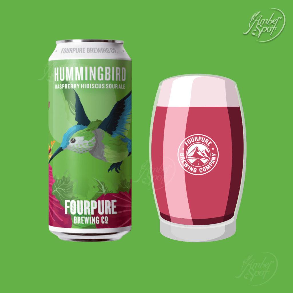 Hummingbird, Raspberry Hibiscus Sour Ale 5.4%